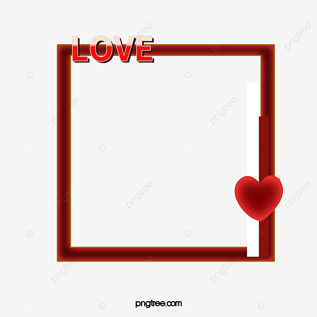 Love Frame, Heart, Couple Photo Frame, Frame PNG Image and Clipart ...