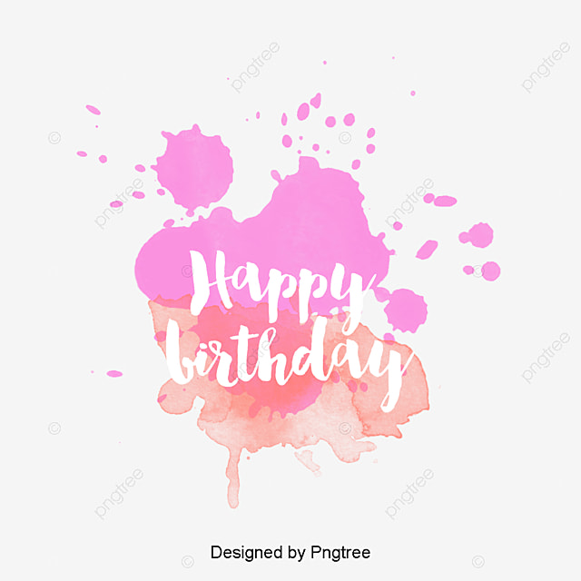 drawing ink happy birthday birthday clipart art birthday letter birthday theme logo png