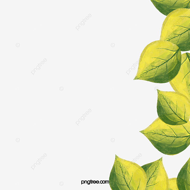 green leaf background ppt green leaf ppt background png