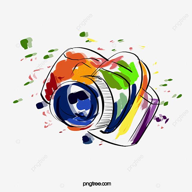 d7ad161c542da Câmera colorida A Câmera Clip Art Produtos Digitais Imagem PNG e Clipart