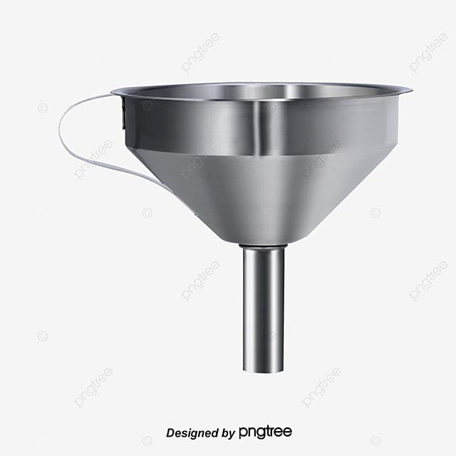 Embudo embudo de acero inoxidable menaje de cocina png for Menaje acero inoxidable