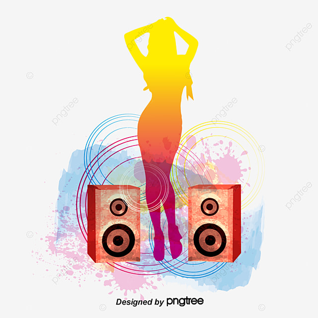 The Trend Of Music Speakers PNG And Vector