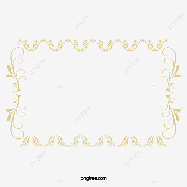 Gold Frame, European Gold Frame, Luxury Gold Frame, Ornate Border ...