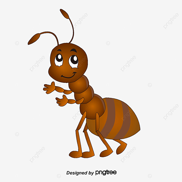 Vector Cartoon Ants, Cartoon Vector, Ant, Insect PNG And