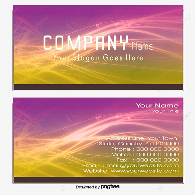 business card, Colorful Business Card, Personalized Business Cards ...