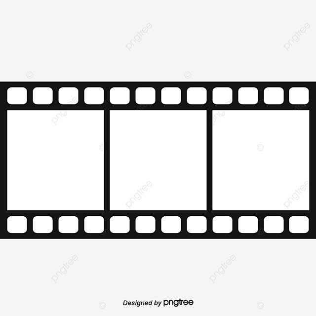 film, Film Clips, Camera Roll, Film Industry Business Card Design PNG and Vector for Free Download