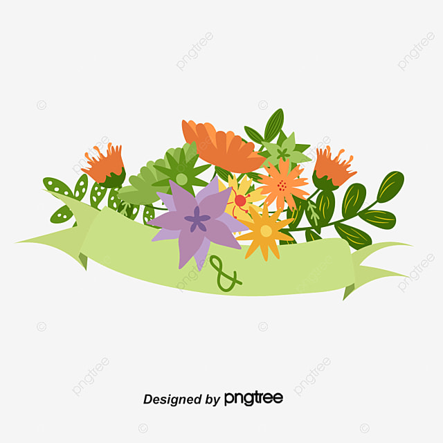 Cartoon floral wedding invitation banner cartoon flowers wedding cartoon floral wedding invitation banner cartoon flowers wedding invitation banner png and vector stopboris Images