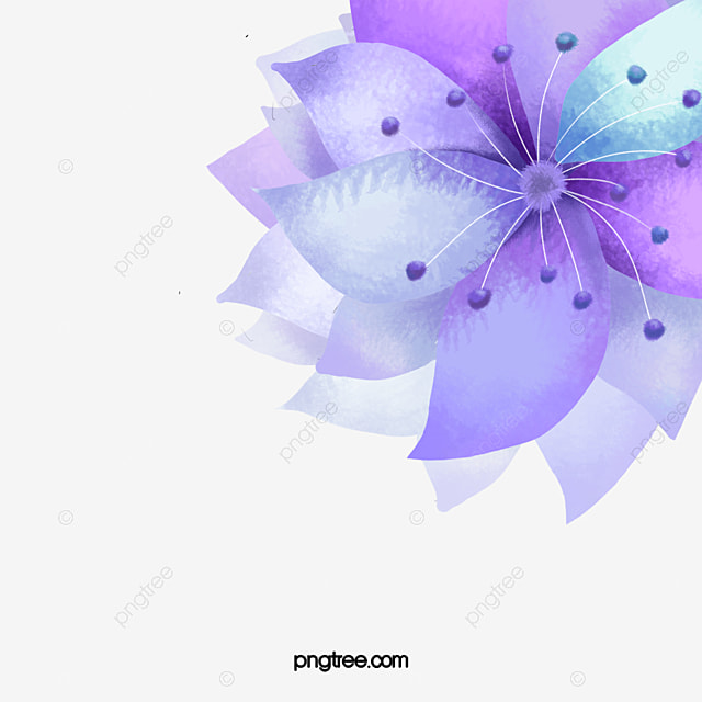 ppt purple background, purple, flower, ppt background png image, Powerpoint templates