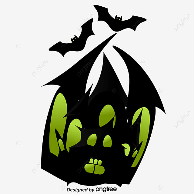 halloween haunted house halloween haunted house black house png rh pngtree com haunted house vector free haunted house vector png