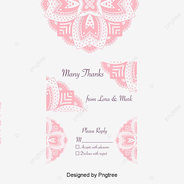 Romantic Wedding Invitation Pink Pattern Background, Pink, Romantic ...