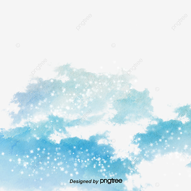 Watercolor Clouds, Clouds, Drawing Material, Poster Design Material PNG and PSD
