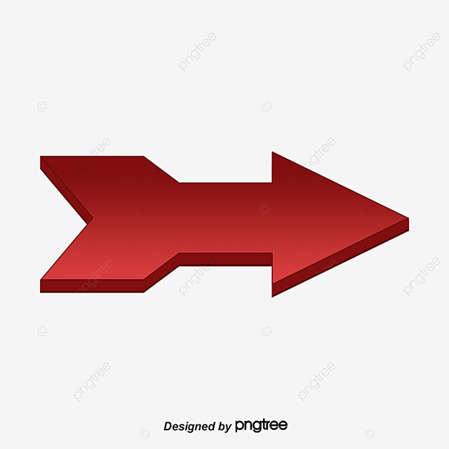 fl che rouge courbe direction st r o image png pour le t l chargement libre. Black Bedroom Furniture Sets. Home Design Ideas
