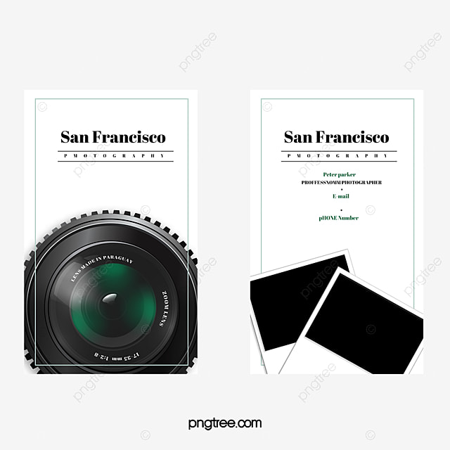 Camera card vector business card photographer business card png camera card vector business card photographer business card png and vector reheart Images