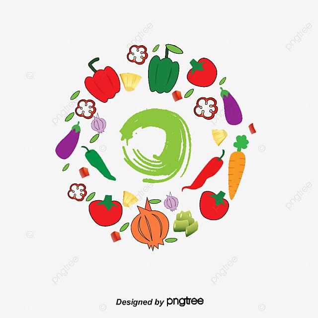 Verduras Dibujos Animados De Verduras Verde Salud Png Y