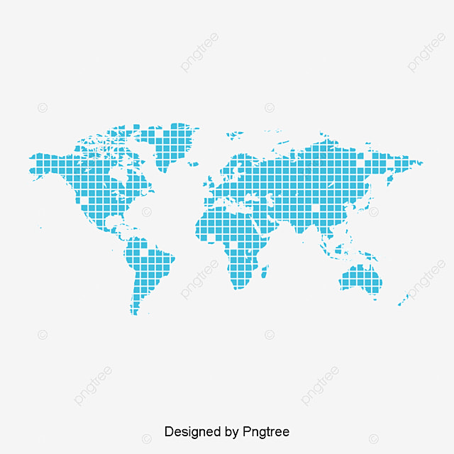 Blue world map forma elemento mapa del mundo creativo elementos blue world map forma elemento gratis png y clipart gumiabroncs Choice Image