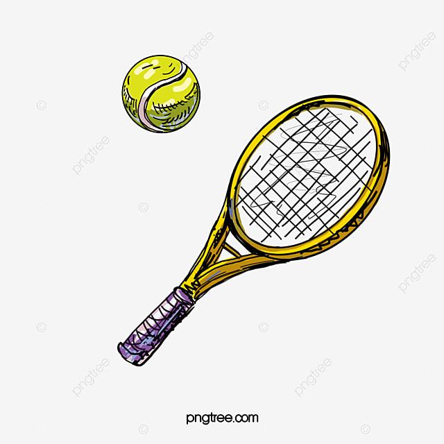 Le tennis dessin de tennis raquette le tennis png et - Dessin raquette ...