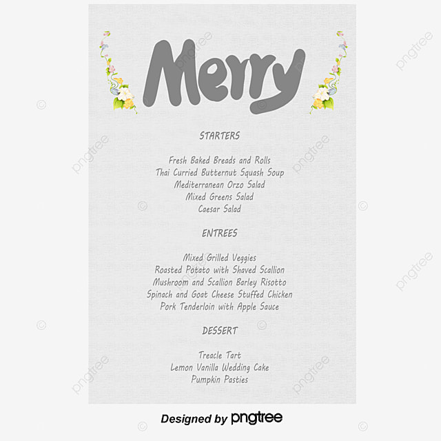 Wedding Menu Wedding Menu Design Template Psd Material Download