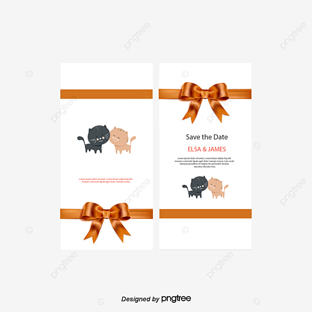 Invitation cards decoration png images vectors and psd files wedding invitation card bow wedding vector png and vector stopboris Choice Image