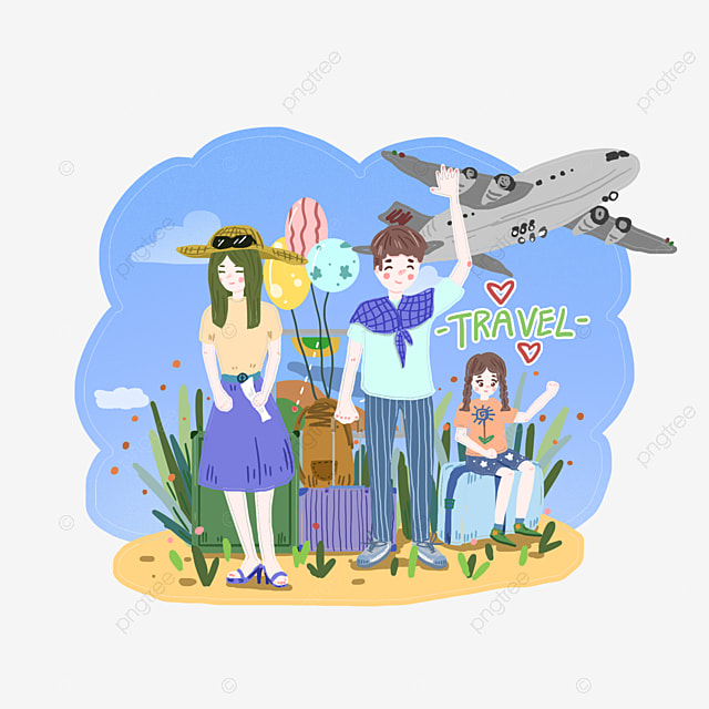 Family Travel Clipart PNG Image And