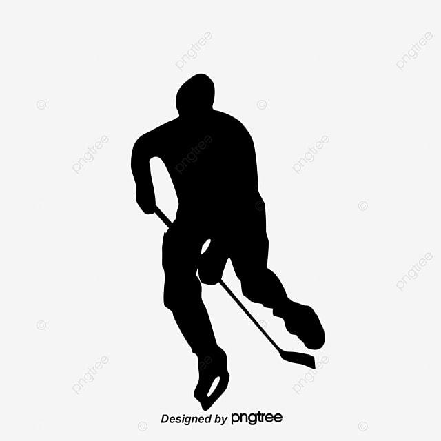le dessin des joueurs de hockey sur glace dessin athl u00e8te palet de hockey png et vecteur pour