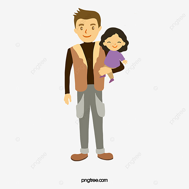 father and daughter father daughter lovely daughter png image and rh pngtree com father daughter fishing clipart father and daughter clipart black and white