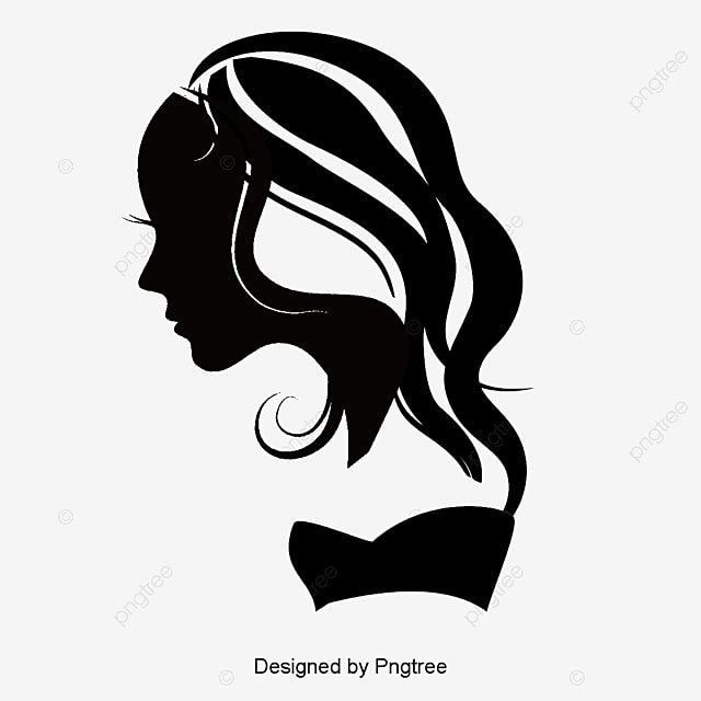 Beauty Hair Silhouette...