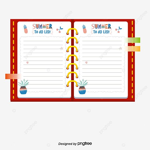 Calendar Template Notebook