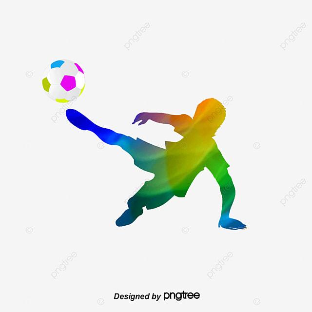 Figuras Del Futbol, Las Personas Creativas Jugando Al Fútbol ...