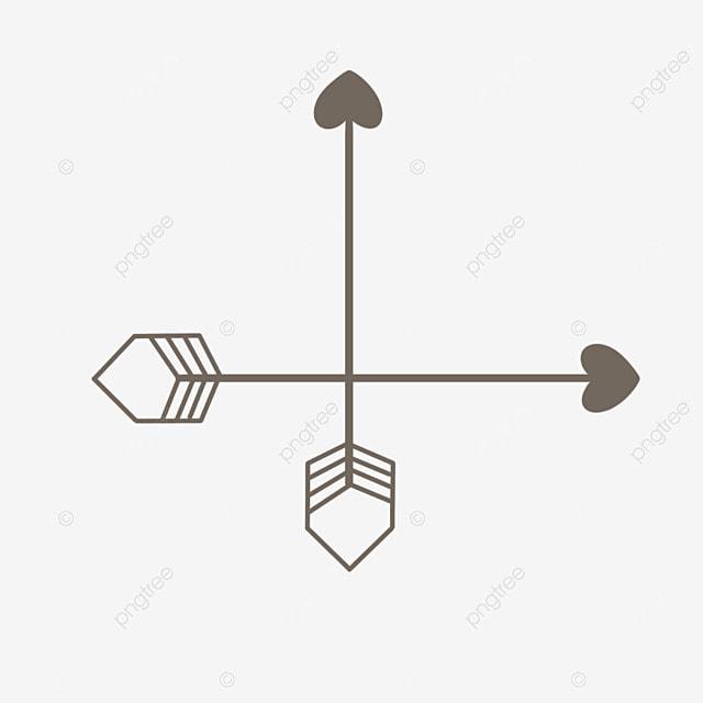 Flecha Flecha De Dibujos Animados Flechas Cruzadas Flechas