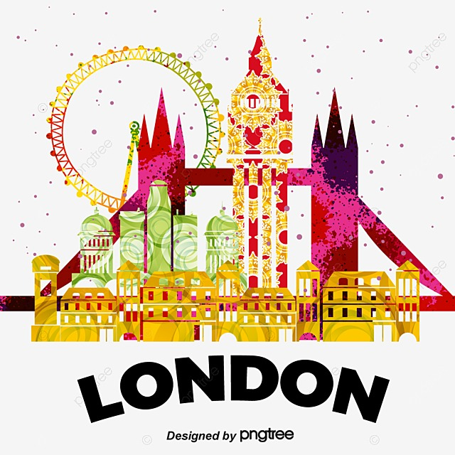 london watercolor london clipart watercolor clipart london png