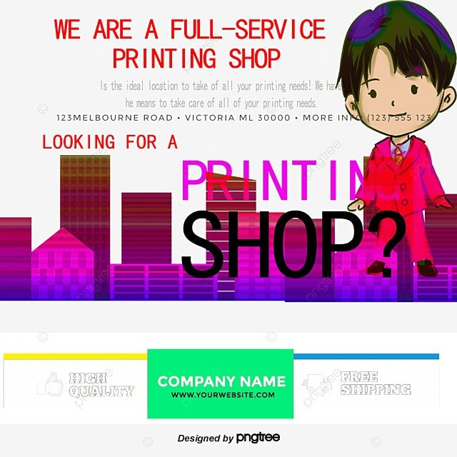 Color Printing Flyers, Dm Single, Leaflet, Find PNG and PSD File for ...