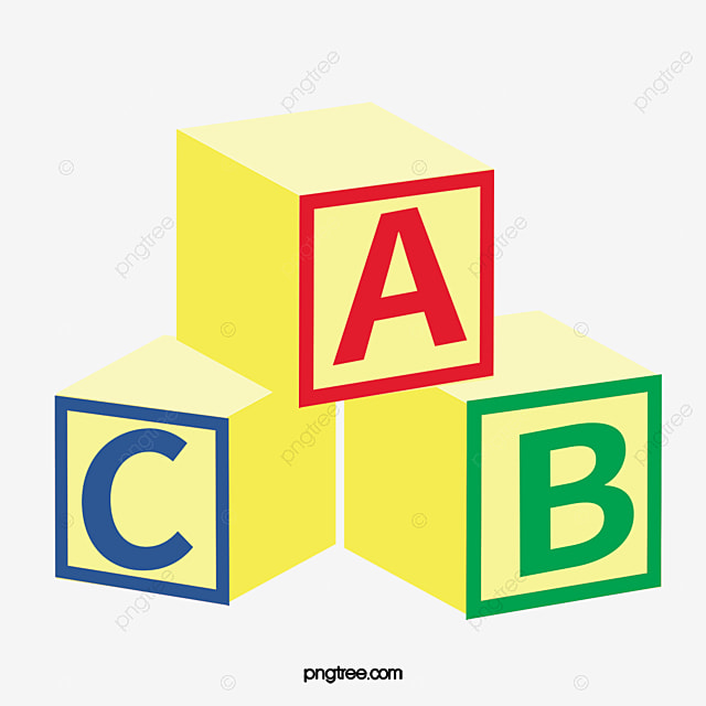 abc alphabet blocks rubik s cube teaching children png image and rh pngtree com