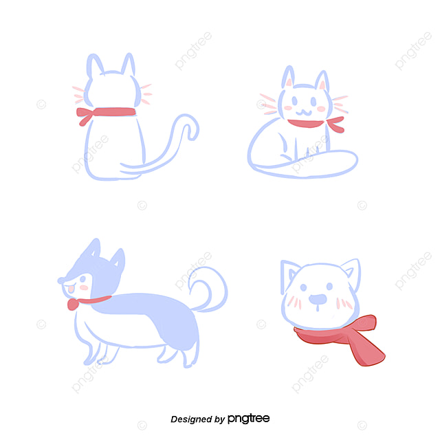c u00e3o bonito do gato dos desenhos animados  cartoon  o dog and cat clip art free black and white dog and cat clip art free watercolors