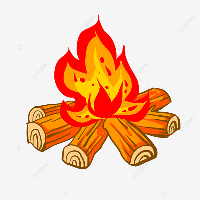 cartoon flame flame wood fire wood png image and clipart for free rh pngtree com Wood Table Clip Art wood fired oven clipart
