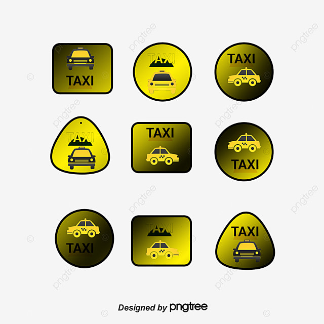 taxi vector ai taxi icon mark png and vector for free