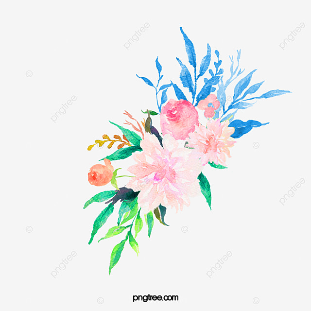 Watercolor flowers drawing plant flowers pink flowers png image watercolor flowers drawing plant flowers pink flowers png image and clipart mightylinksfo