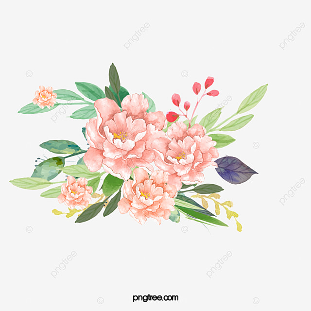 Pink flower png images vectors and psd files free download on watercolor pink flower elegant style watercolor flower elegant png image and clipart mightylinksfo