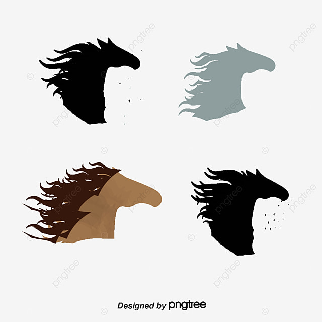 Horsehead Cartoon Horse Horses Steed Png And Vector For Free Download