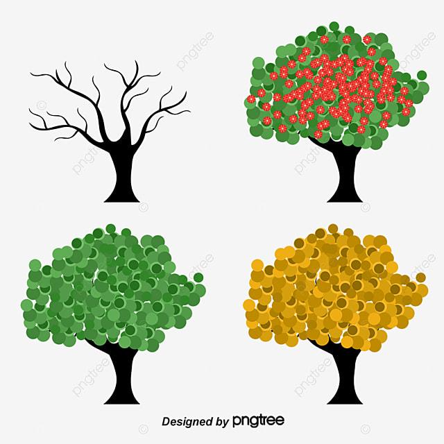 Ramas De árboles Vector, Los árboles, Los árboles, Vector PNG y ...