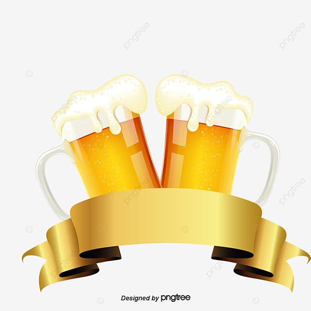 Vetor De R 243 Tulo De Cerveja Fita Vector A Cerveja Fita