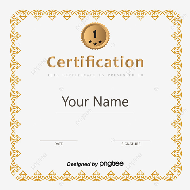 vector beautifully certificate template beautifully certificate certificate templates certificate of authorization png and