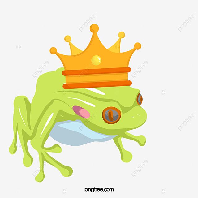Grenouille Couronne la grenouille a une couronne le prince grenouille de la couronne la
