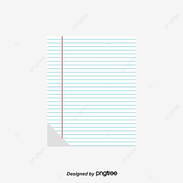 Loose Leaf Paper, Striped Paper, Loose Leaf, Notebook Free PNG And Vector  Loose Leaf Paper Background