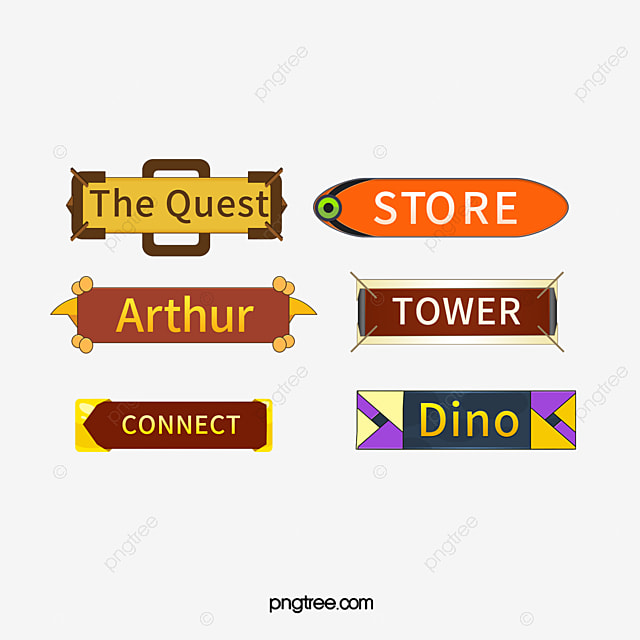 Game Button Interactive Online Game Ui, Game, Ui Interface