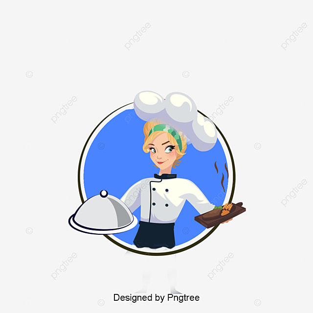 female chef png vectors psd and clipart for free download pngtree rh pngtree com female chef clipart images black female chef clipart