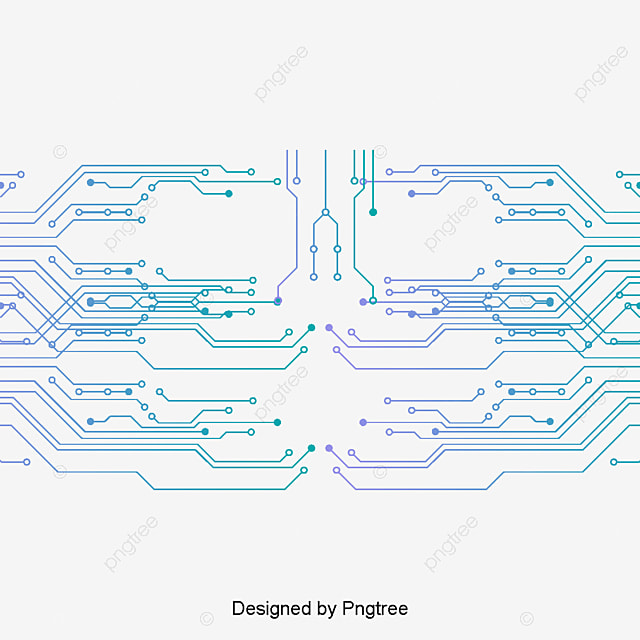 Electronic Pattern Making : Electronic circuit board pattern vector