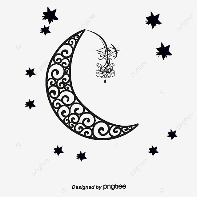 la lune de d u00e9coration la lune le dessin de la lune le vecteur de la lune png et vecteur pour