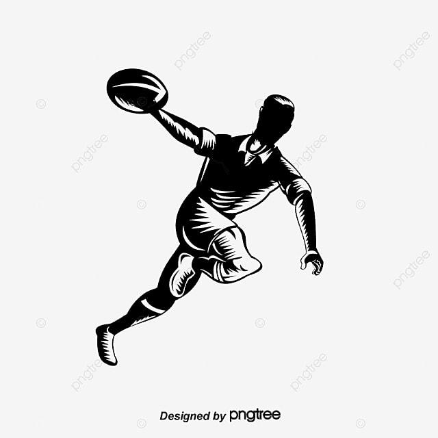 American Football Player Football Vector Football Clipart Sports