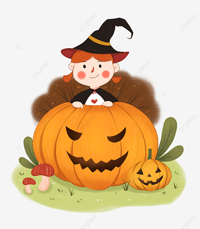 Halloween pumpkin png clipart from pngtree.com