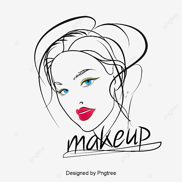 pintados  u00e0 m u00e3o de maquiagem beleza  ilustrador de beauty salon clipart vector beauty salon clipart programs